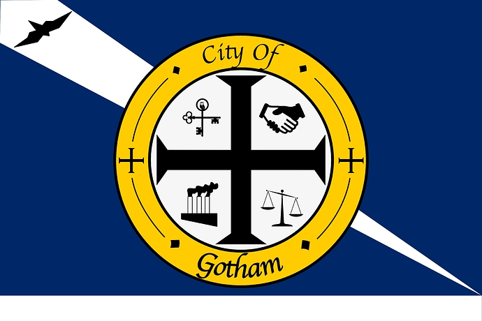 Gotham City Municipal Flag