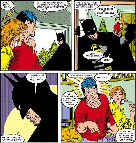 Best Batman Line