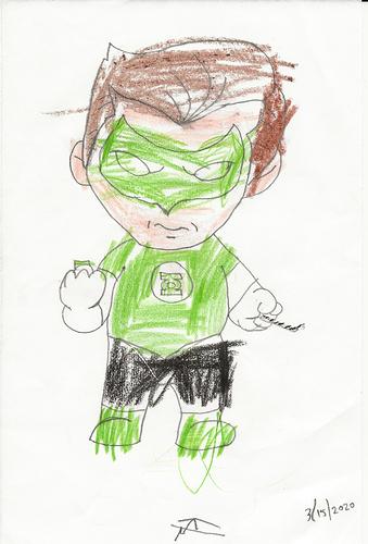 Adeline Green Lantern