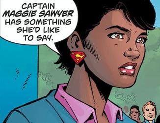 Action Comics 1000 Superman earrings