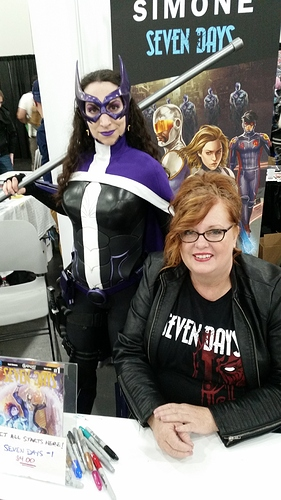 Huntress and Gail Simone