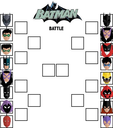 Tier Sheet Batman Battle