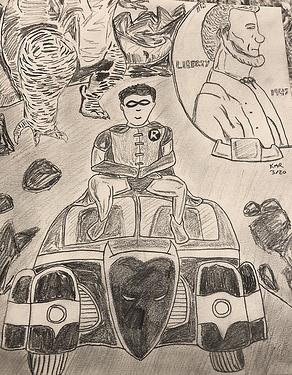 01 Dick Grayson, ImpulseMaxMercury