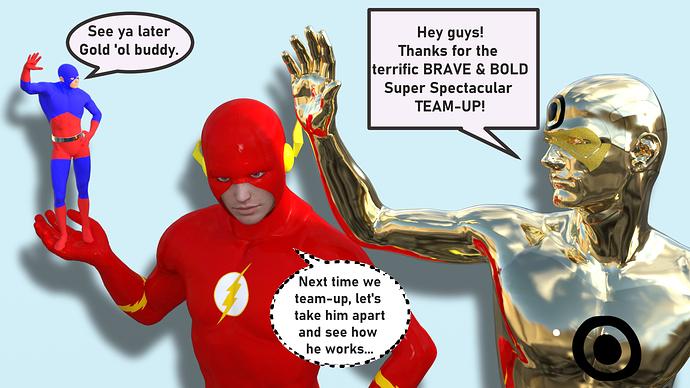 gold flash atom