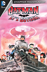 Batman lil Gotham 2012 24 cover