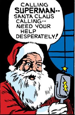 Santa calls Supes