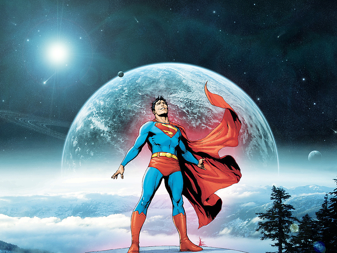 Superman by Gary Frank by DanielGoettig on DeviantArt