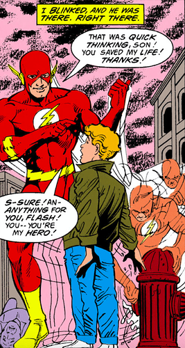 The Flash 1987 62 Wally the hero