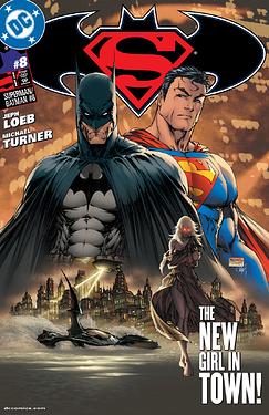 Superman Batman 2010 8 cover