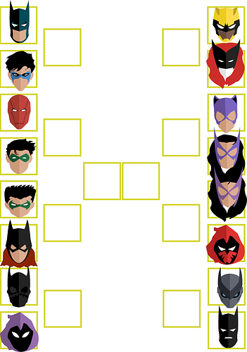 Bat Tournament With Brackets