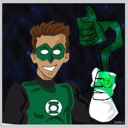 Green Lantern Finished