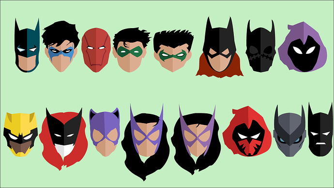 Batman Icons for Fight