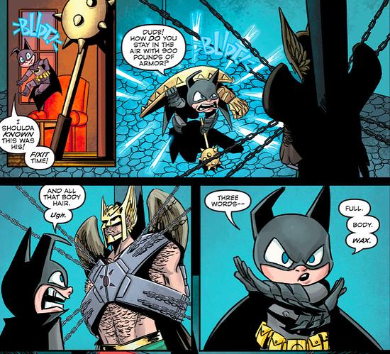 Batmite - Hawkman