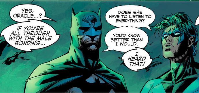 Batman-615-Hush-Oracle-Nightwing-Bat-joke.png
