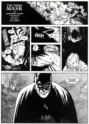 Batman Black and White Katsuhiro Otomo