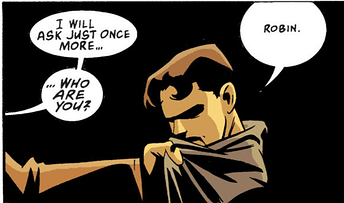 Robin Year One 2 - who are you