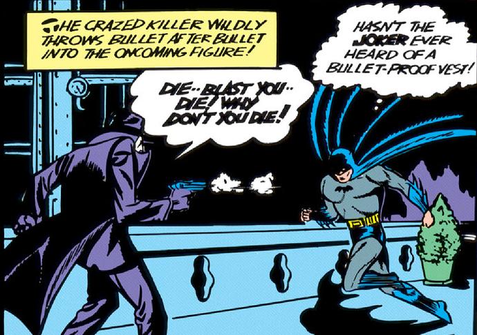 Batman 1 vest