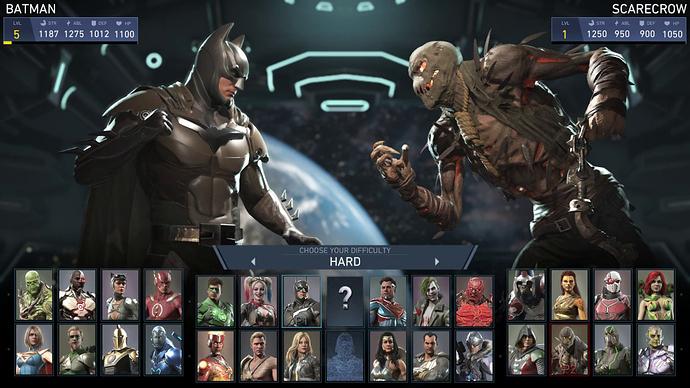 Injustice 2 - Batman Vs Scarecrow - Very Hard Mode   PS4 - YouTube
