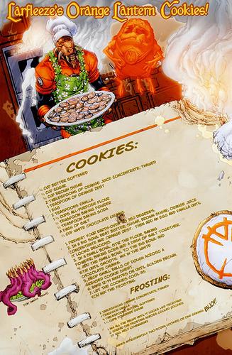 Larfleeze's Oragne Lantern Cookies