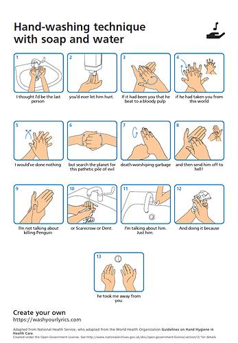Washing Hands Jason