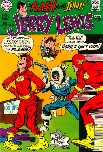 jerry lewis112-00 the flash meets jerry lewis