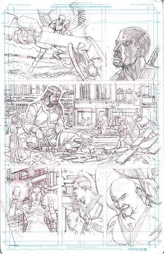 Hawkman 10 Page 4 Neill Brengettsey