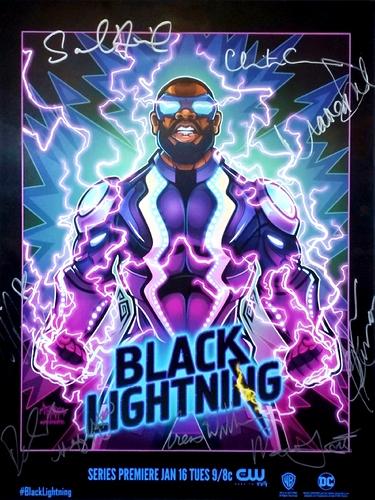 21 - Black Lightning cast