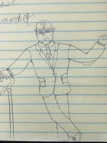 Riddler Sketch