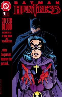 Batman-Huntress Cry for Blood 2000
