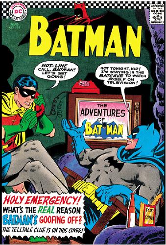 Batman 183 cover