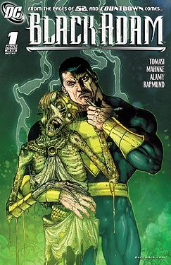 Black Adam 2007 Issue 1 Cover