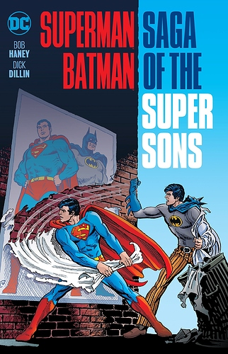 Image result for elseworlds sons of batman and superman