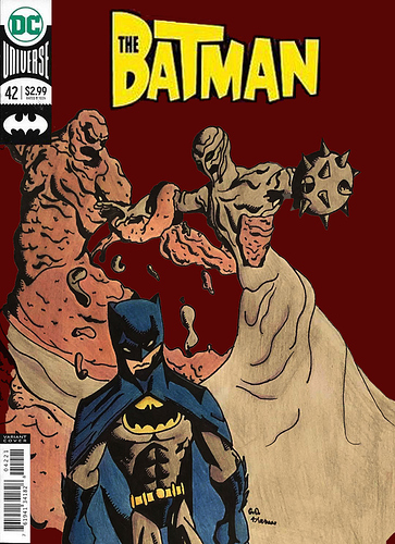 clayfaces comic cover