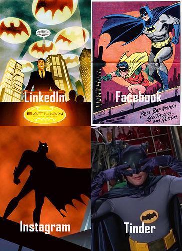 Batman Social Memedia