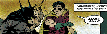 Jason slaps Batman