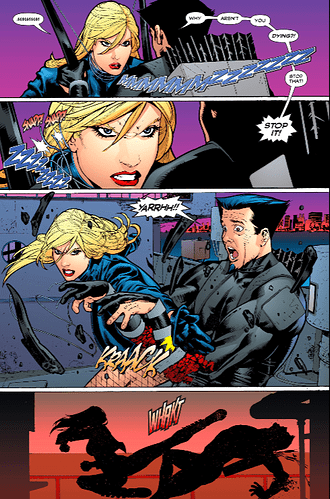 BlackCanary2007_4_BCvMerlin