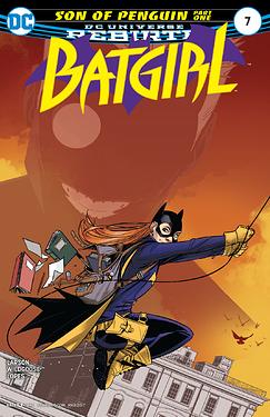 Batgirl 2016 Son of Penguin