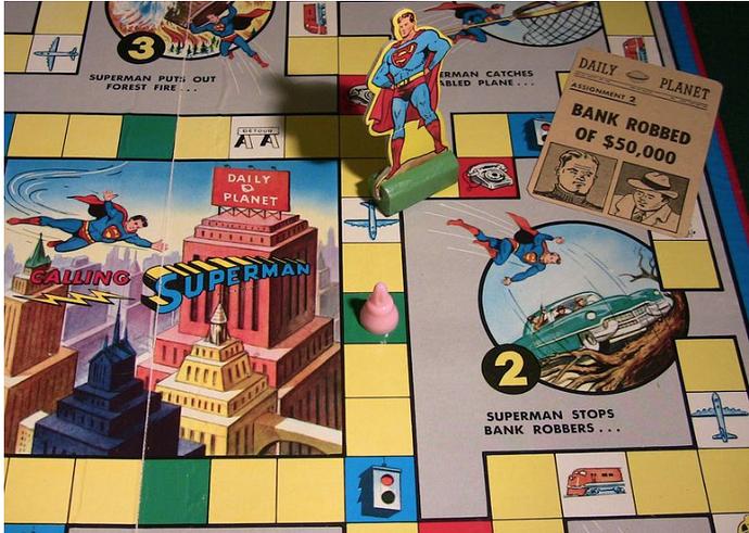 Calling Superman board