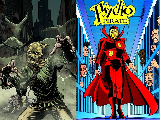 Scarecrow vs. Psycho-Pirate