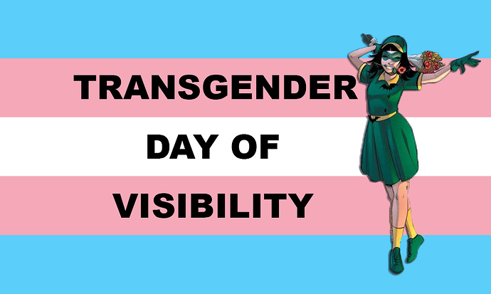 trans day of visibility dc