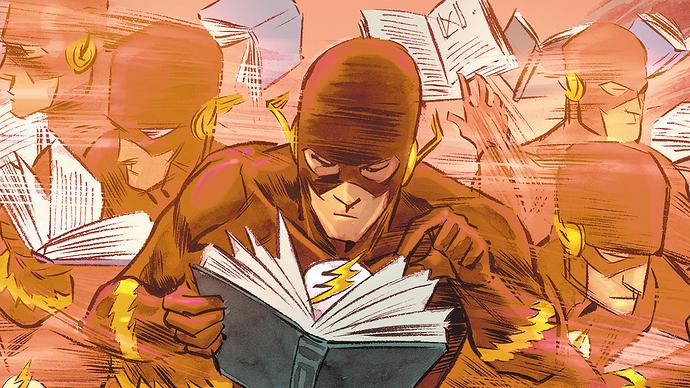 Flash reading