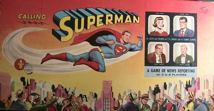 calling superman box