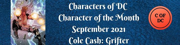Cole Cash Grifter