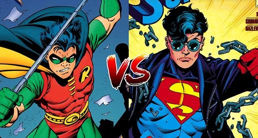 Batman Vs Superman Poll Robin Superboy