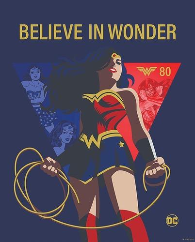 Wonder Woman 80th Anniverary Key Art