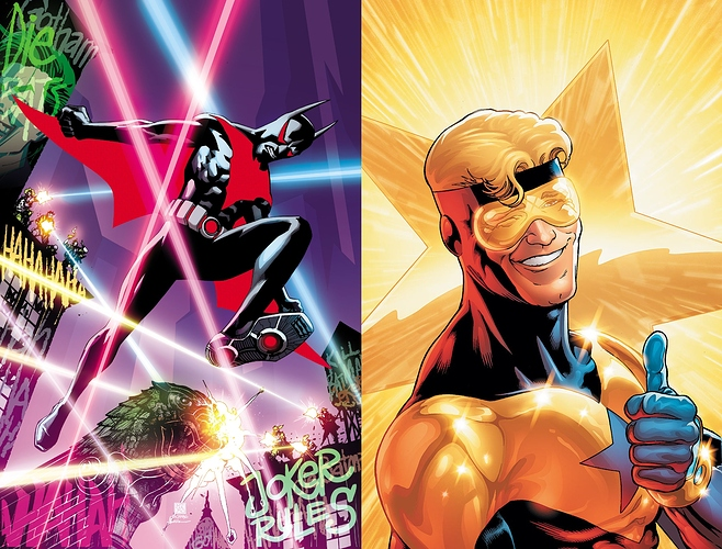 Batman Beyond vs. Booster Gold