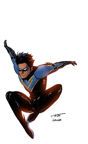 Nightwing - Gold Trim