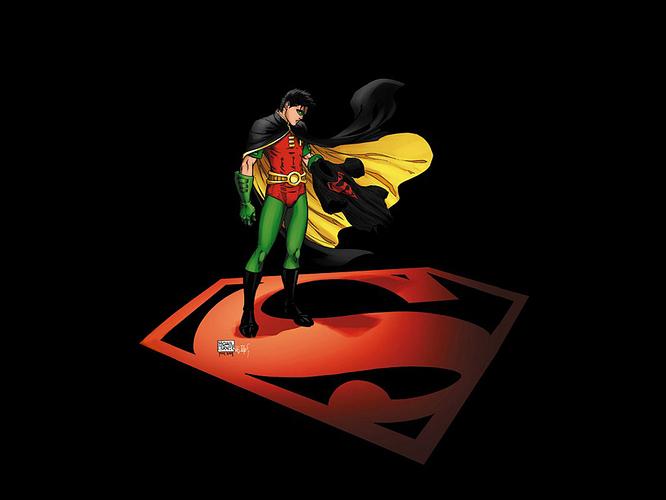 Superboy Tribute Wallpaper