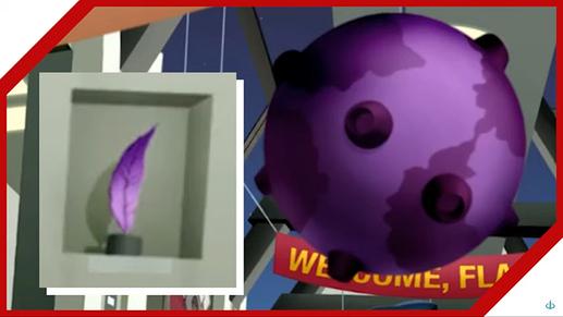 jlu flash and substance purple stuff