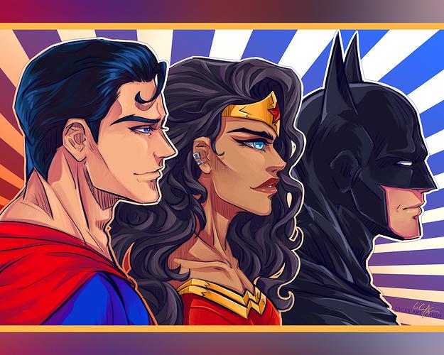 DC Profile Busts - Trinity INSTA 1